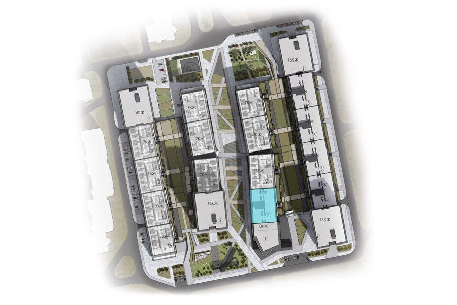 Квартира 2А, секція 2, поверх 7